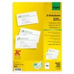 Sigel Visitenkarte hochweiß 225g FSC chlorfrei gebleicht Nr. LP795. PA= 100Stk