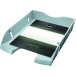 Helit Briefablage A4/C4 lichtgrau Nr. H2363582 bruchsicheres PET