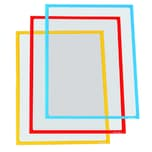 Ultradex Infotasche 889001 magnetisch DIN A4 grün 5 St./Pack