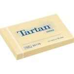 3M Tartan Haftnotizen 51x76mm gelb Nr. 005176. Block à 100 Blatt