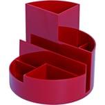 Maul Stifteköcher Maulrundbox rot Nr. 4117625 Ø 14cm 6 FächeHöhe 125cm