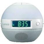 Lenco Uhrenradio Sunrise CRW-1 1233912 7Regenbogenfarben