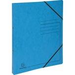 ExacomPTA Ringbuch Colorspankarton A4 türkis Nr. 542562E. 2 Ringe Ø 15mm