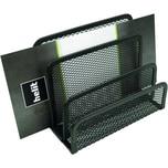 Helit Briefhalter Mesh Metall Nr. H2518395 3 Fächer schwarz