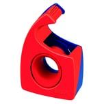 Tesa Handabroller Easy Cut rot/blau Nr. 57443-01 bis 19mm x 10m ungefüllt