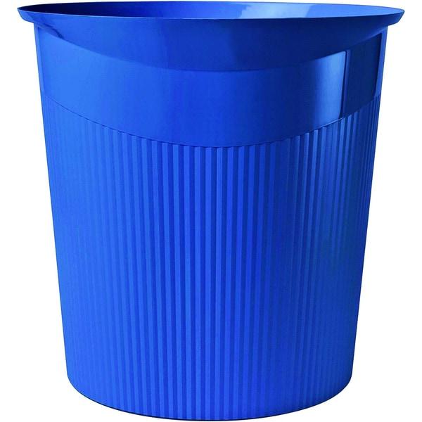 HAN Papierkorb Loop blau 13 Liter Nr. 18140-14 Höhe: 29cm konisch