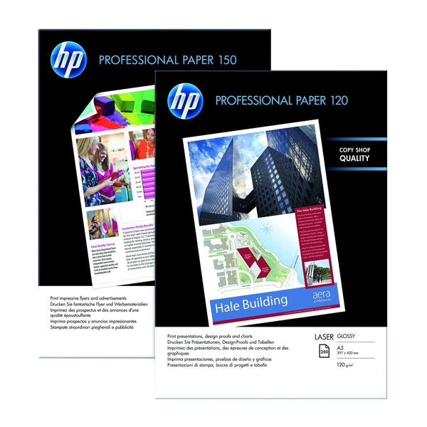 HP Professional Laser-Papier A4 120g Nr. CG 964A PA 250 Blatt glänzend