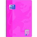 Oxford Collegeblock Touch A4+ kariert Nr. 400086496 80 Blatt 90gm² rosa