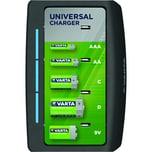 Varta Ladegerät Universal Charger BLI 1 Nr. 57648101401 Licherhteitstimer LED