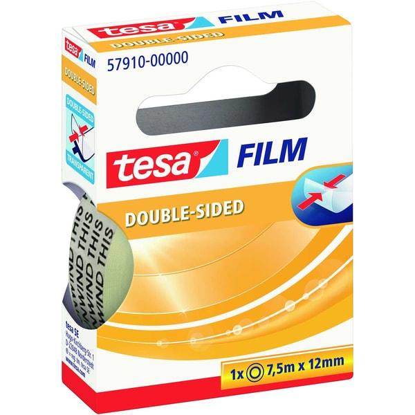 tesa Klebefilm 75mx12mm transparent Nr. 57910 doppelseitiges Klebeband