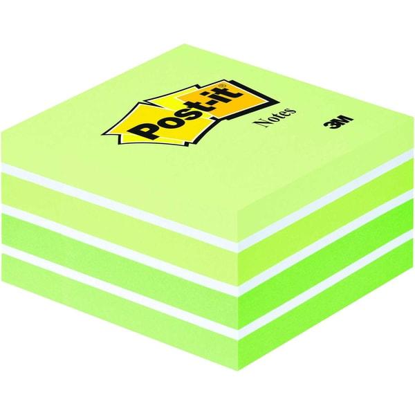 Post-it Haftnotiz 76x76mm pastellgrün Nr. 2028G Würfel à 450 Blatt