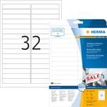 Herma Etikett Movables Nr. 4209 weiß PA 800 Stk 96x169mm ablösbar