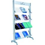 Paperflow Prospektständer Plexiglas Nr. 16.A4TT.35 16 Fächer