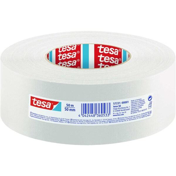 tesa Gewebeband 50mmx50m weiß Nr. 57231-01 Premium