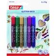 tesa Farbstift Glitter-Deco Nr. 59900-0-6 sortiert PA= 6Stk