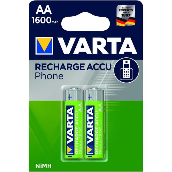 Varta Phone Recharfeable Akku Aa Nr. 58399201402 12V Hr6F22 1.600Mah