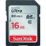 SanDisk Speicherkarte Ultra SDHC 16 GB Nr. SDSDUNC-016G-GN6IN