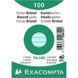 ExacomPTA Karteikarte A7 liniert blau Nr. 10810SE PA 100 Stück