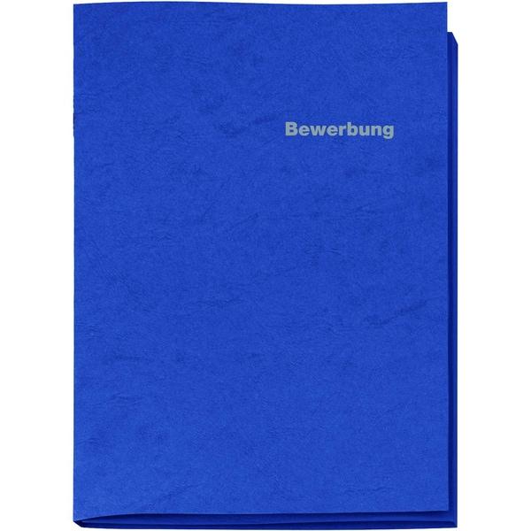 VELOFlex Bewerbungsmappe A3 Karton Nr. 4943050 300g 3tlg. blau