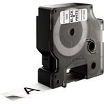 Dymo Schriftbandkassette S0718050 19mmx5.5m schwarz auf weiß. Nylon D1