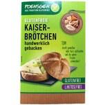 Poensgen Kaiserbrötchen Glutenfrei und Laktosefrei 2 Stück