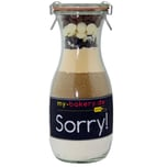 my-bakery Sorry - Triple Chocolate Cookies Backmischung im Glas 420g