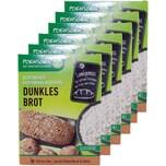Poensgen 6x Dunkles Brot Backmischung Glutenfrei 500g