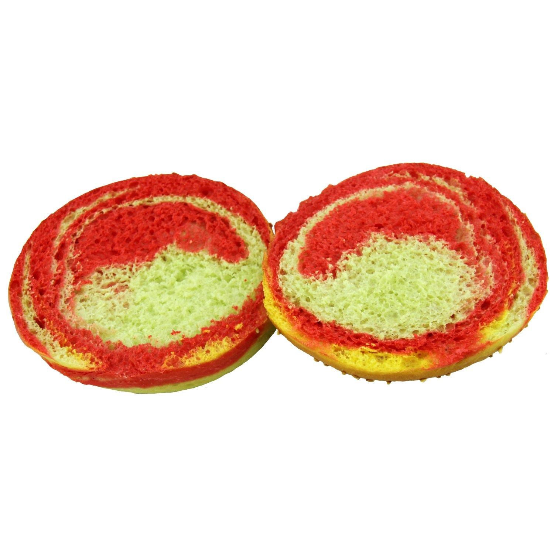 my-bakery Einhorn Burgerbrötchen Bunt XL 2 Stück