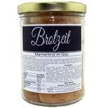 my-bakery Marmor-Brot im Glas mit Spruch – Brotzeit 300 g