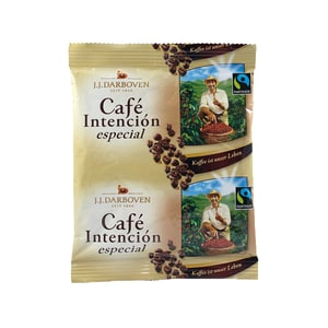 Darboven Fairtrade Café Intención especiàl 100% Arabica Bohnen Filterkaffee portioniert 60g
