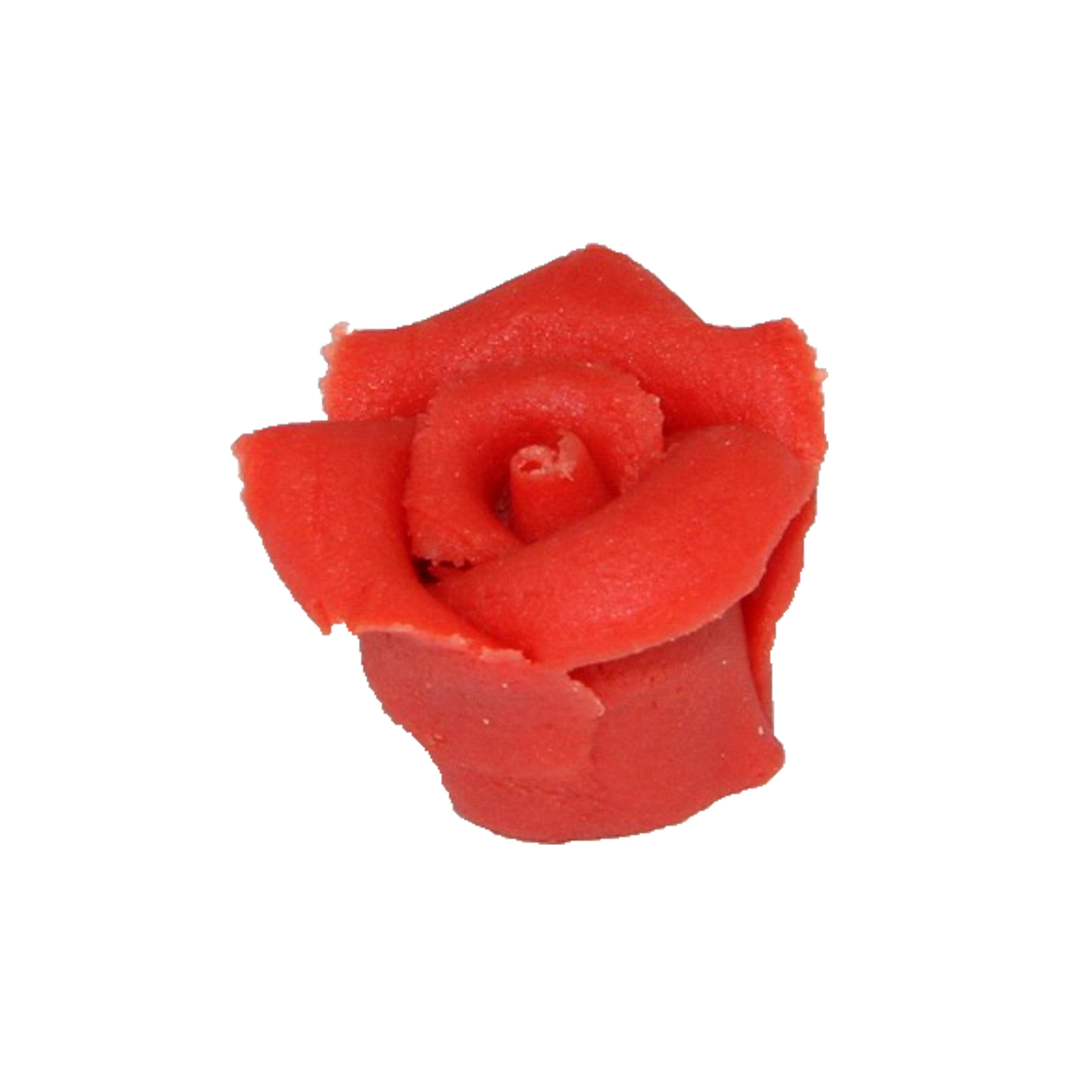 my-bakery Marzipan Rosen rot klein 5 Stück