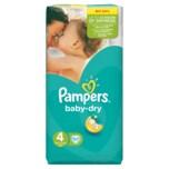 Pampers Baby Dry Gr.4 Maxi 7-18kg Value Bag 52 Stück - Größe 4 - 52 Stück