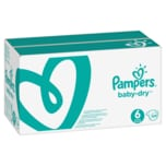 Pampers Baby Dry Gr.6 Extra Large 13-18kg MonatsBox, 124 Stück