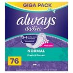 always Slipeinlage Fresh&Protect Normal Fresh Gigapack 76er Pack x 4, 304 St.