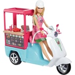 Mattel Barbie Cooking Baking Snack-Roller