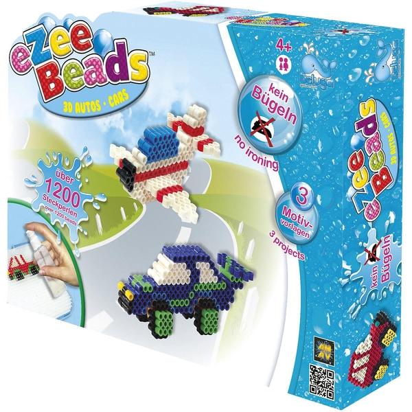 Beluga eZee Beads Sprühperlen 3D Fahrzeuge ca.1200 Perlen