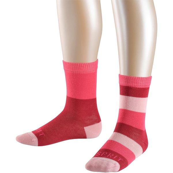 Esprit Socken Block Stripe Doppelpack für Mädchen