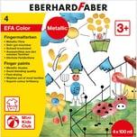 Eberhard Faber Fingerfarben Metallic 4 x 100 ml