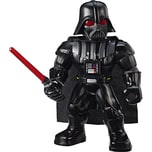 Hasbro Star Wars Galaxy Heroes Mega Mighties Darth Vader Figur mit Lichtschwert 25 cm