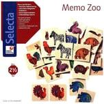 Selecta Memo Zoo Kinderspiel