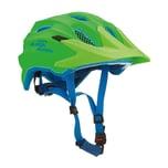 Alpina Fahrradhelm Carapax Jr. green-blue