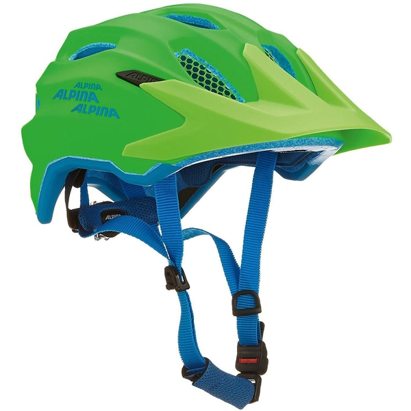 Alpina Fahrradhelm Carapax Jr. green-blue 51-56