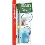STABILO Bleistift EASYgraph Start Set Linkshänder blau 4-tlg.