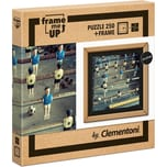 Clementoni Puzzle 250 Teile Frame Me Up Fussball