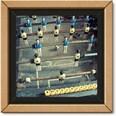 Clementoni Puzzle 250 Teile Frame Me Up Fussball