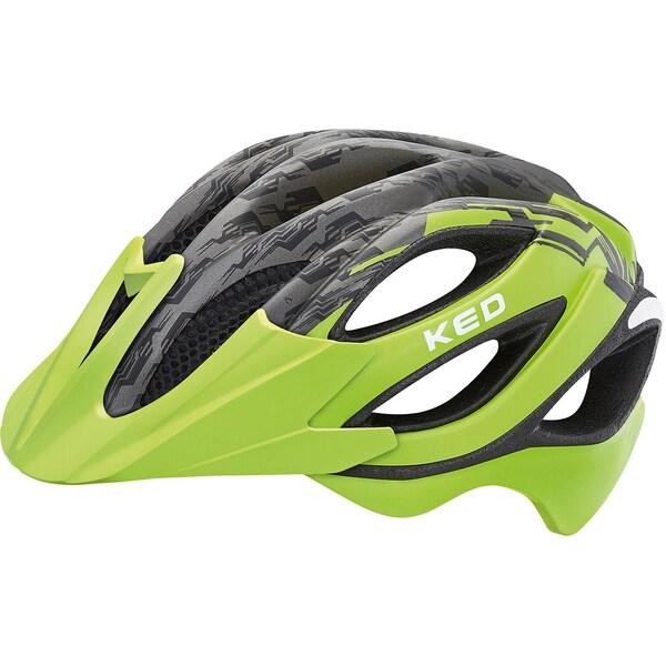 Ked Helmsysteme Fahrradhelm Paganini Visor grün/schwarz matt