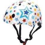 kiddimoto Fahrradhelm Stars bunt