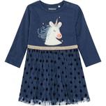 Staccato Baby Jerseykleid mit Tüll Einhorn