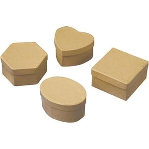 Playbox Blanko-Pappschachteln Mix 12 Stück
