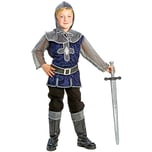 Funny Fashion Kostüm blausilberner Ritter Sir Lancelot 3-tlg.